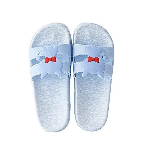 Femmes Vêtements De blue Hommes De Maison Pantoufles La Bains Couple Air Et Antidérapantes Pantoufles De Pantoufles De Plein Salle D'été Des De Des À Des Oq8qS7