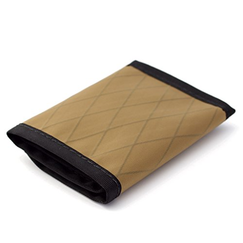Flowfold Traveler Limited Slim Front Pocket Trifold Wallet made in Maine