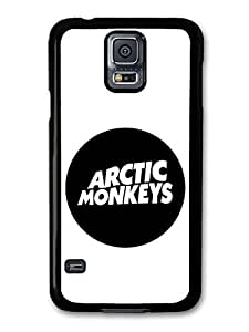 AMAF ? Accessories Arctic Monkeys Rock Band Rounded Logo case for Samsung Galaxy S5