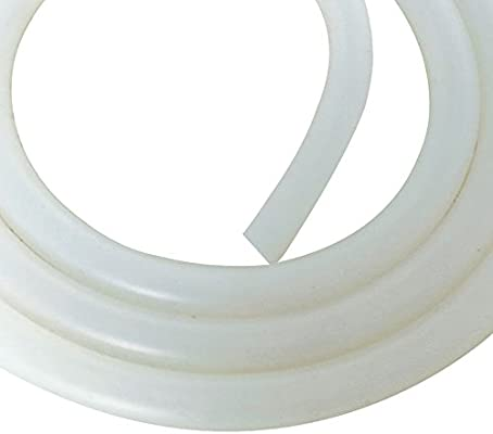 Food Grade Silicone Tube 3//8 inch Electrical Water Heat Resistant Hose for Wine