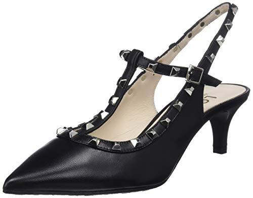 Sweet Noir Femme Negro Negro Escarpins Salomé go sweet Claudy Lodi qS8Zx