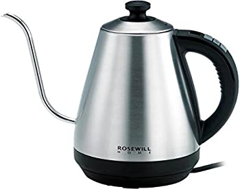 Rosewill 1 Liter Pour Over 1000W Electric Gooseneck Kettle