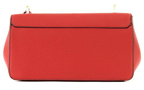 Klein Calvin Candy De Oscuro Ck Hombro Bolsas Rojo B7SUr