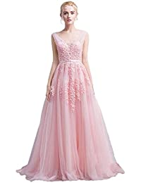 Amazoncom Pinks Formal Dresses Clothing Shoes Jewelry