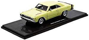 Dodge Dart GTS 1968 Sunfire Yellow 1:43 Model 43007 by Highway 61