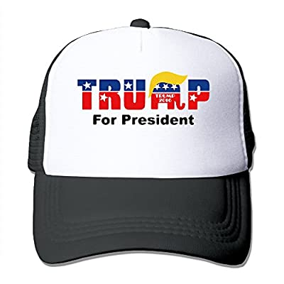 Donald Trump For President Trucker Hat Adjustable Snapback Strap Mesh Cap (6 Colors)