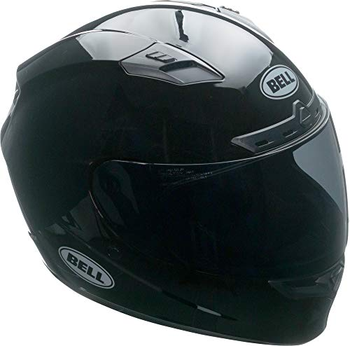 Bell Qualifier DLX MIPS Full-Face Motorcycle Helmet (Solid Black, Large)