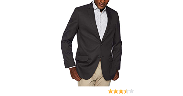 50L gray blazer Haggar Mens Active Series Classic Fit Stretch Suit Separate Pant