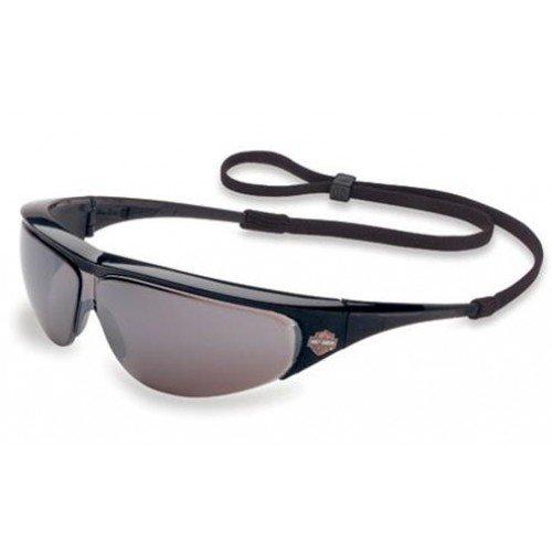 Uvex Harley Davidson Eyewear - Harley Davidson HD402 Safety Glasses Motorcycle Glasses Silver Mirror Lens