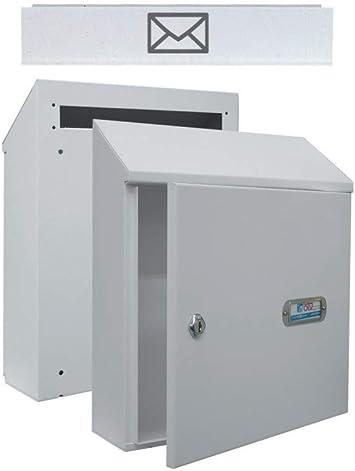 Btv M235449 - Recogecartas con bocacartas blanco: Amazon.es: Bricolaje y herramientas