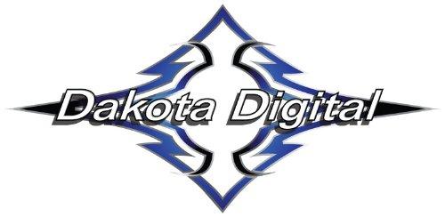 Dakota Digital MCL-3200 Series Chrome Bezel Instrument System for Harley Davids