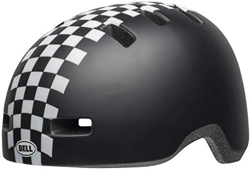Bell Lil Ripper Toddler Cycling Helmet - Kid's Checkers Matte Black/White