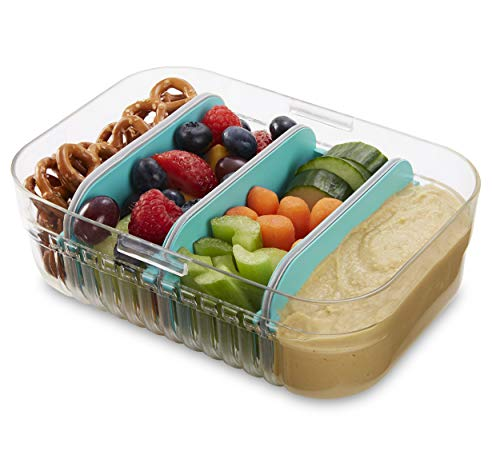 Bento food storage container