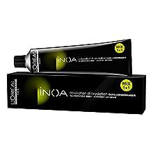 L'Oréal INOA coloración del cabello Rubio 60 ml - Coloración del cabello (Rubio, Mujeres, 1 pieza(s), 60 ml, Radiante, Caja)