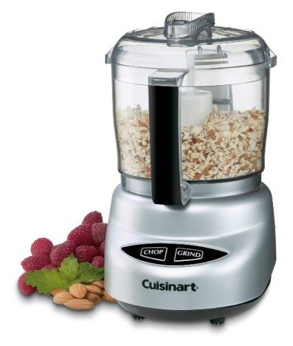 Cuisinart DLC-2ABC Mini-Prep Plus Food Processor, Brushed Chrome (Certified Refurbished)