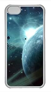 iPhone 5c case, Cute Asteroids Field iPhone 5c Cover, iPhone 5c Cases, Hard Clear iPhone 5c Covers