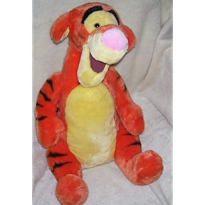 "The Disney Store Large Tigger Plush 19"" Sitting: Toys & Games"