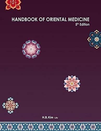 Handbook of Oriental Medicine (5th edition)