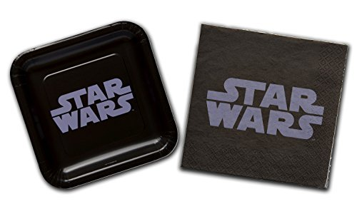 Star Wars Classic Birthday Party Supply Kit - Plates and Napkins -