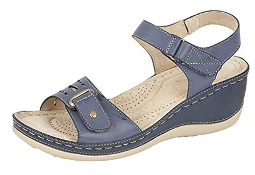 Boulevard ,  Damen Sling Backs Blau