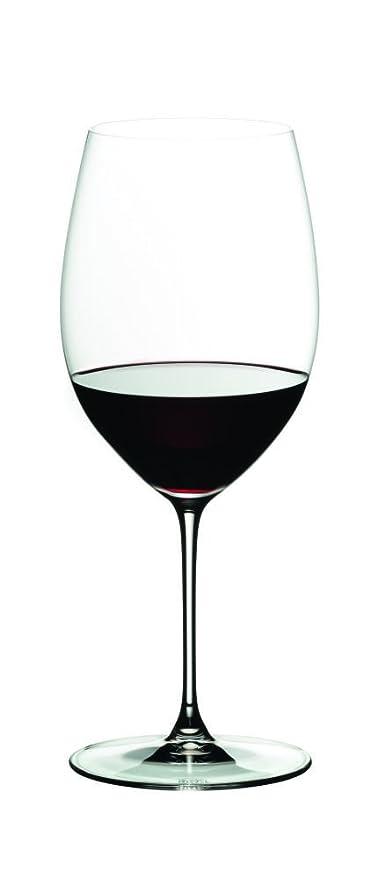 4dff56f331c Amazon.com: Riedel 6449/0 Veritas Cabernet/Merlot Wine Glasses, Set of 2,  Clear: Kitchen & Dining