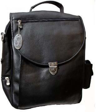 Amazon.com  Cape Cod Leather Nantucket Black Leather Computer Bag  Shoes 56a568d293770