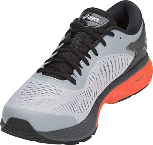 ASICS Gel-Kayano 25 Men's Running Shoe, Mid Grey/Red Snapper, 7 M US by ASICS (Image #2)