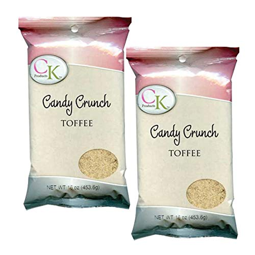 CK PRODUCTS CANDY CRUNCH TOFFEE 1# (2PK)
