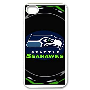 DIY phone case seattle seahawks cover case For iPhone 4,4S JHDSJ3350