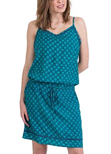 Coton Robe Du Multicolore 32 AMELYSIA Monde Bleu Imprim rwrEq8p