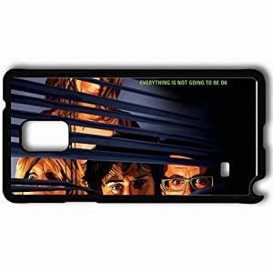 Personalized Samsung Note 4 Cell phone Case/Cover Skin A A Scanner Darkly 9398 Black