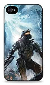 Master Chief - Halo Apple iPhone 5 / 5S Hard Case - Black- 314