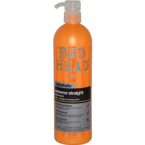 Tigi Bed Head Styleshots Extreme Straight Shampoo, 25.36 Ounce (Bed Head Straight Extreme)