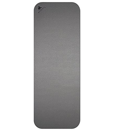 Bigger Better Yoga Core Mat by Mantra Style Durable Handcrafted Rounded Corners Thick Large Size Allows More Room For Any Activity