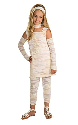 Rubie's Drama QueensChild Mummy - Ista Costume - Medium (8 -10) (Kids Mummy Costumes)