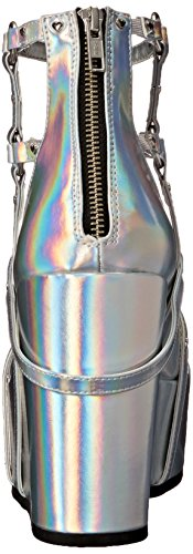 Slv 2 25 POISON Vegan Leather Hologram Demonia ZzPcBTWW4
