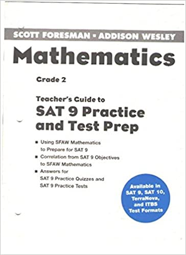 Mathematics Teachers Guide to SAT 9 Practice and Test Prep
