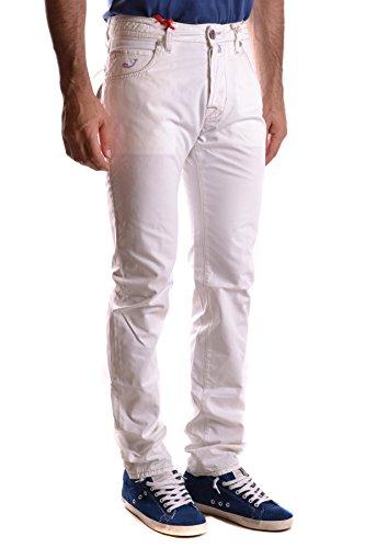 Jacob Cohen Homme MCBI160054O Blanc Coton Jeans