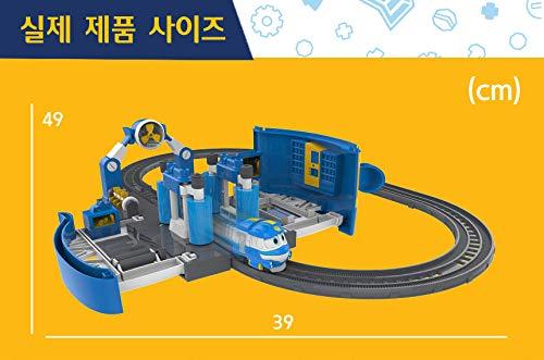 Robot Train Season 2 Kays Wash Station Play Set Silverlit
