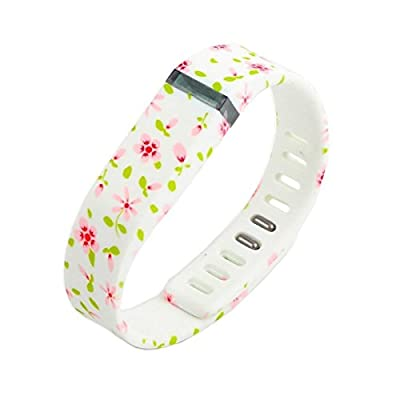 2015 Latest Band Set For Fitbit Flex, Replacement bands Set, Water Transfer Printing Set With Metal Clasps for Fitbit Flex Activity Tracker(Large)¡­