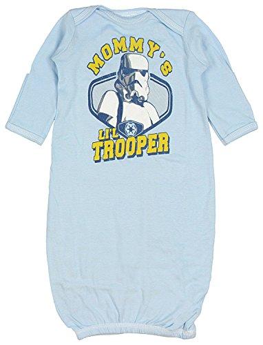 Star Wars Mommy's Li'l Trooper Newborn Baby Gown (Newborn)]()
