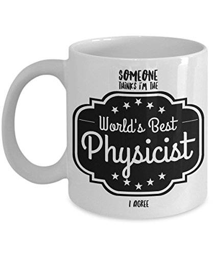 Albert Einstein Costume Kit (The Physicists, Someone Thinks I'm The World's Best Physicist - I Agree, Show Your Favorite Physicist Some Love with this White Ceramic Mug)