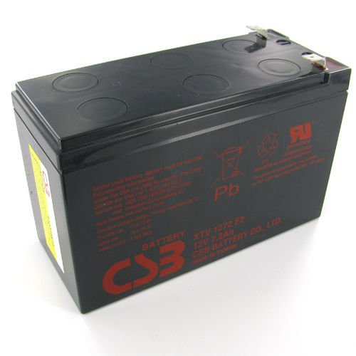 New Authentic CSB 12v 7.2Ah Sealed Lead Acid Battery GP1272 F1