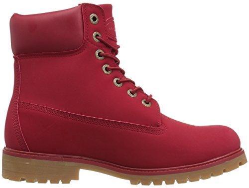 Lugz Mens Convoy Fashion Boot Marte Rosso / Gomma