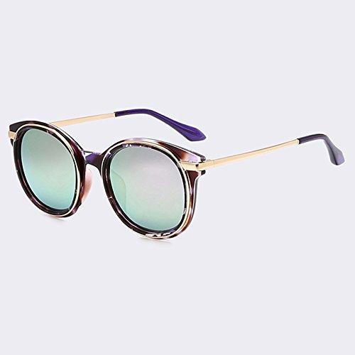 femeninas las TIANLIANG04 aleación C02 classic fuzzy C02 oval moda para espejo Gafas lentes de piernas gafas en rvqr7