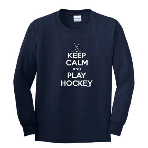 Keep Hockey Youth Sleeve T Shirt