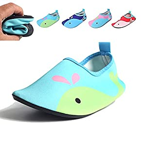 Shoe Water Bottle Blue Red Pink Navy For Kids Baby Toddler Infant Youth Kid Beach Pool Swimming Running Tennis Hiking Diving Walking Athletic Size 11 13 9 10 12