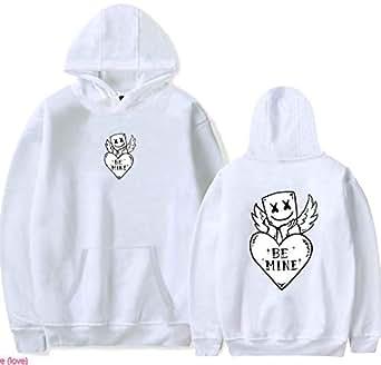 Printed Marshmello Hoodies Sweatshirts Men's Women's Lovely Spun sugar Marshmello Men's Hoodies clothing