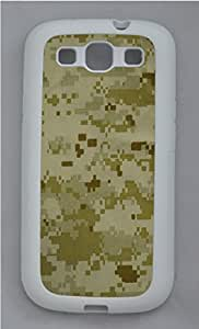 Samsung Galaxy S3 I9300 Cases & Covers - Military Camo Custom TPU Soft Case Cover Protector for Samsung Galaxy S3 I9300 - White