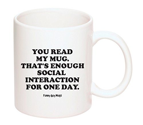 Funny Guy Mugs Interaction 11 Ounce product image